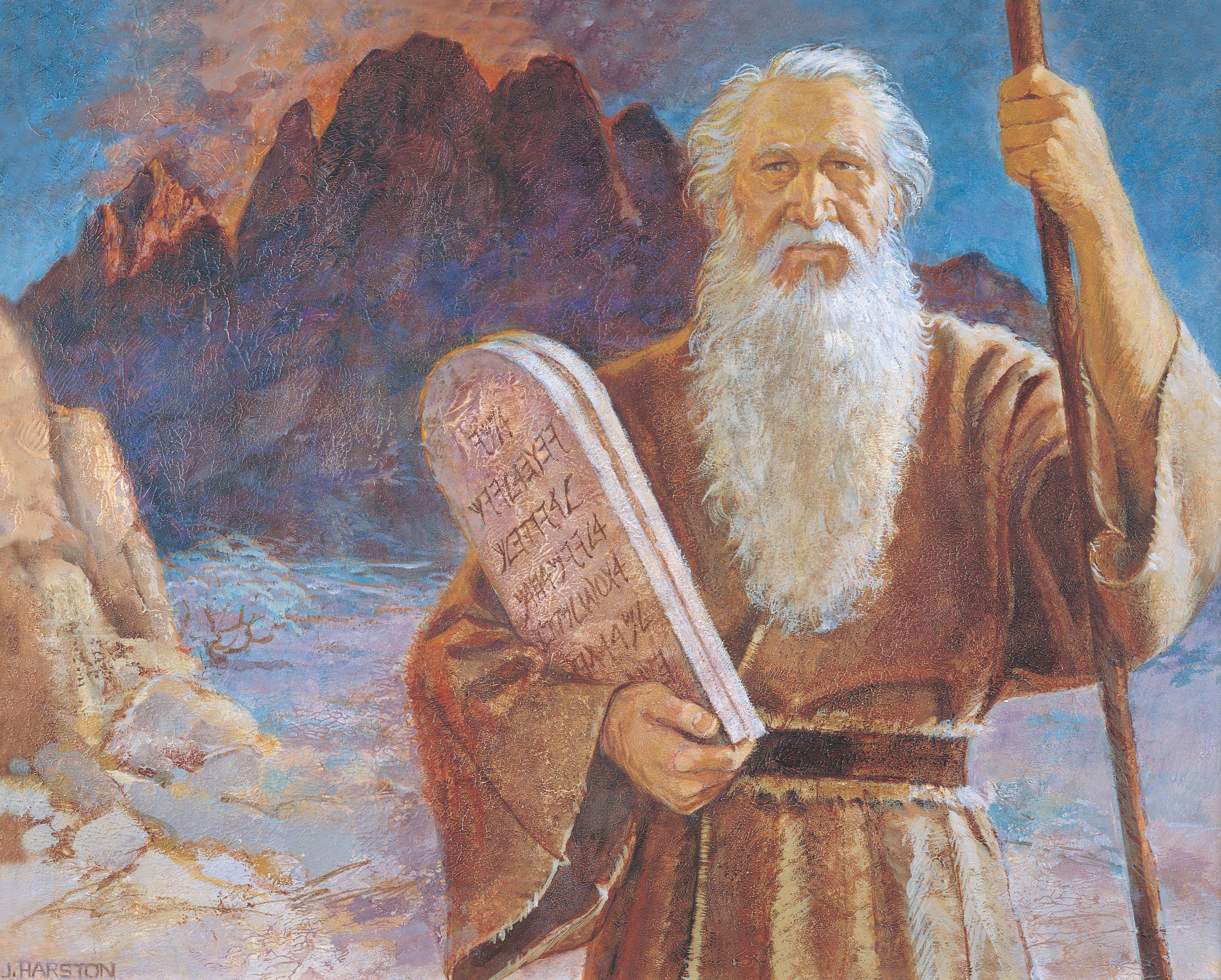 Moses and the Tablets, by Jerry Harston; GAB 14; Primary manual 6-24; Exodus 19–20