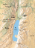 map, region around Dead Sea