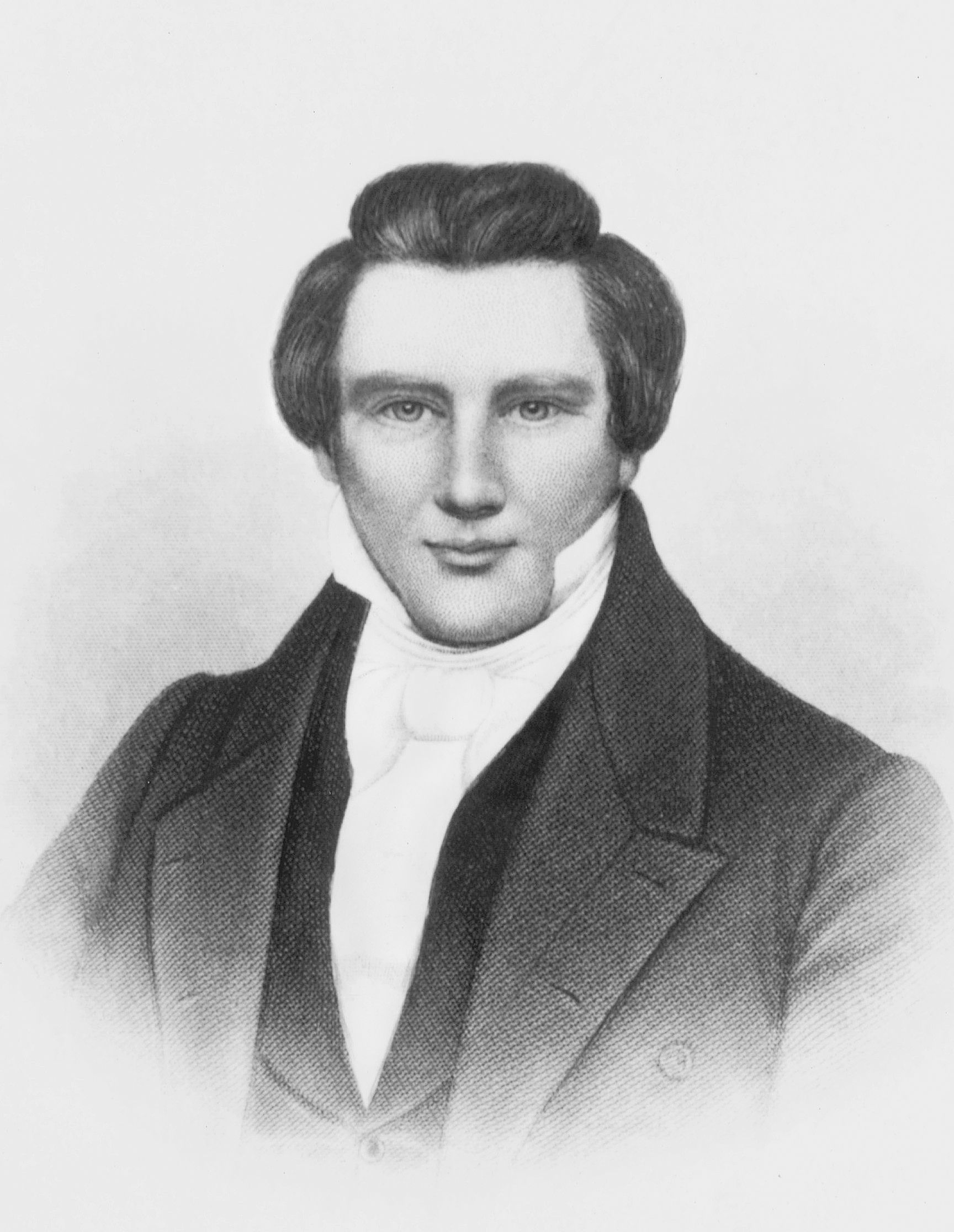 Joseph Smith Jr., by H. B. Hall & Sons of New York