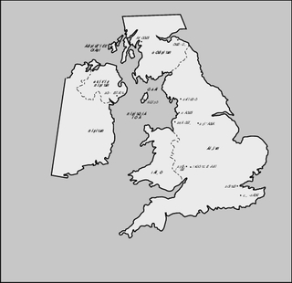 map, British Isles