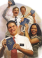 missionaries holding the Book of Mormon