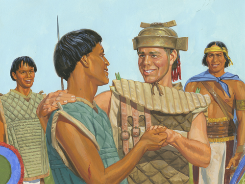 Helaman and warrior