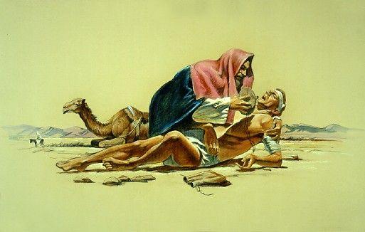 The Good Samaritan, by Del Parson