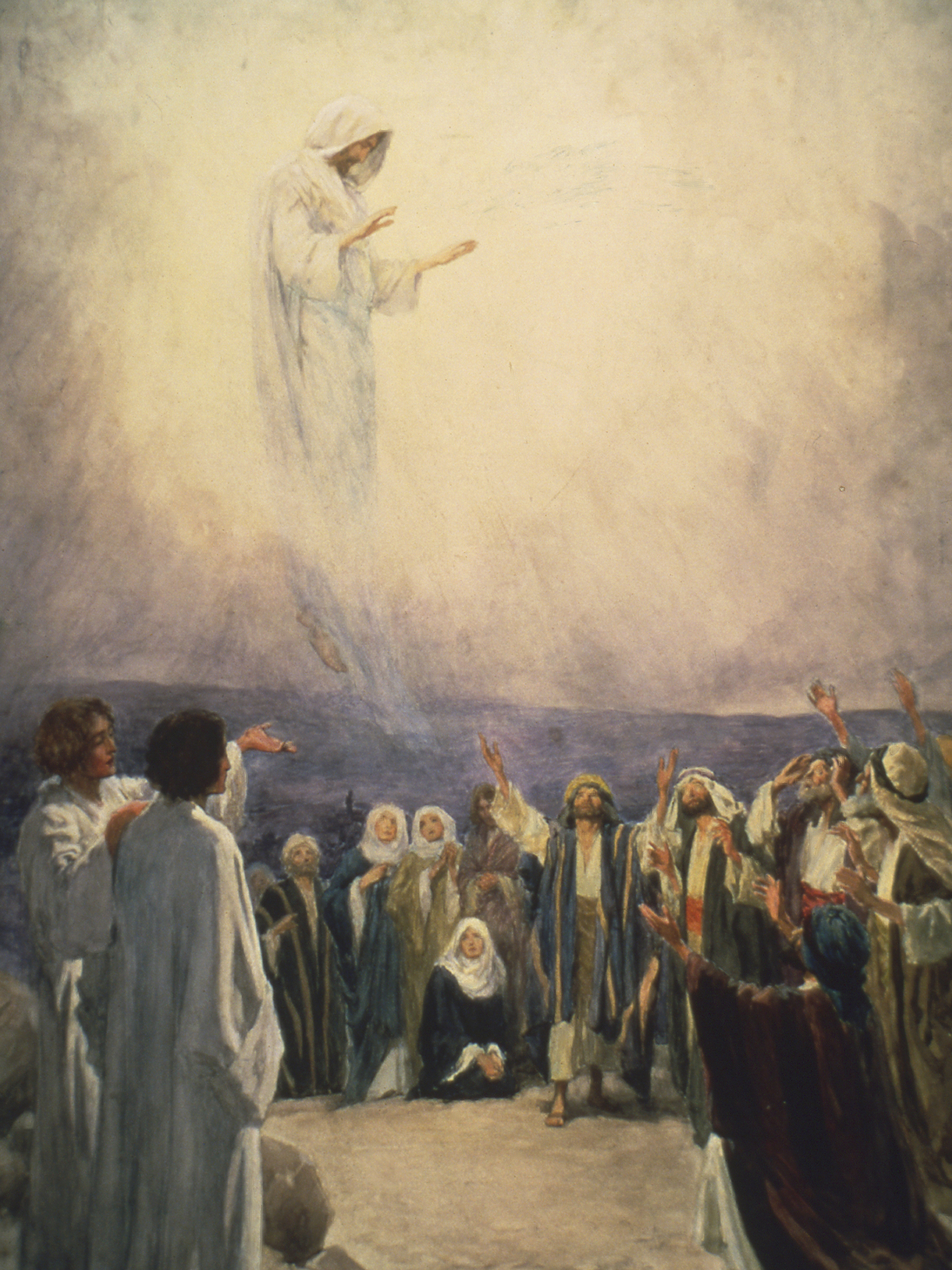 The Lord's Ascension, by William Henry Margetson.