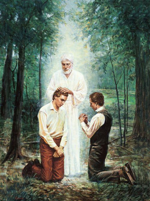 Restauración del sacerdocio