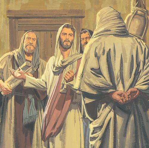 Jesus teaching disciples