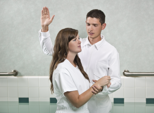 """""""What We Believe - Baptism"""" - for Ensign Feb 2013"""