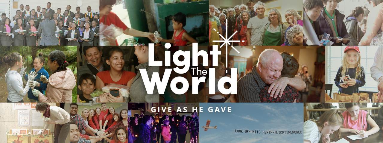 Light the World This Christmas | ComeUntoChrist org