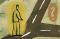 A Man Standing at a Crossroads