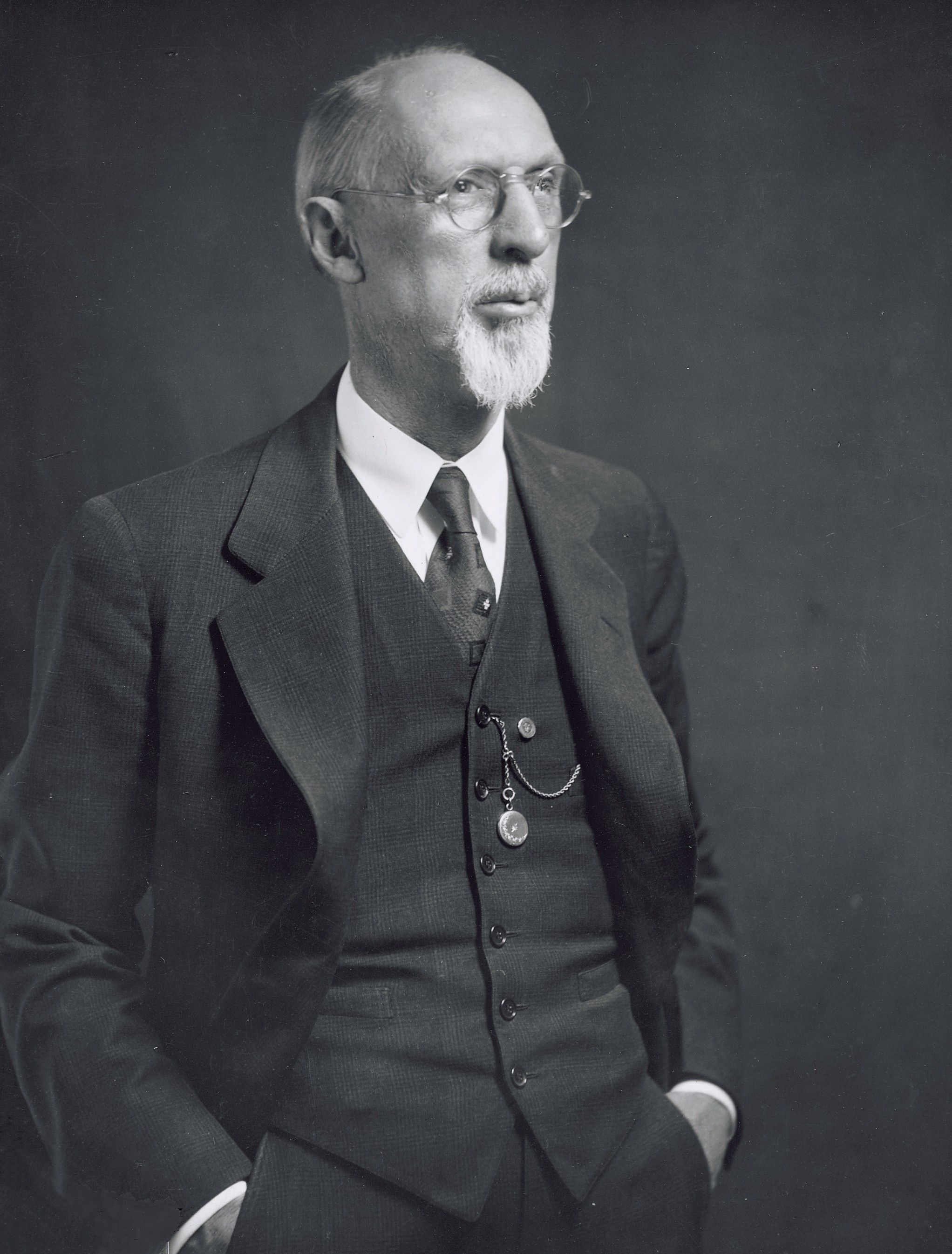 The prophet George Albert Smith standing with his hands in his pockets. Teachings of Presidents of the Church: George Albert Smith (2011), 56