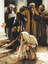 Christ writing on ground