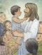 Jesus visits the Nephites