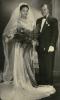 Julia and John Mavimbela on their wedding day