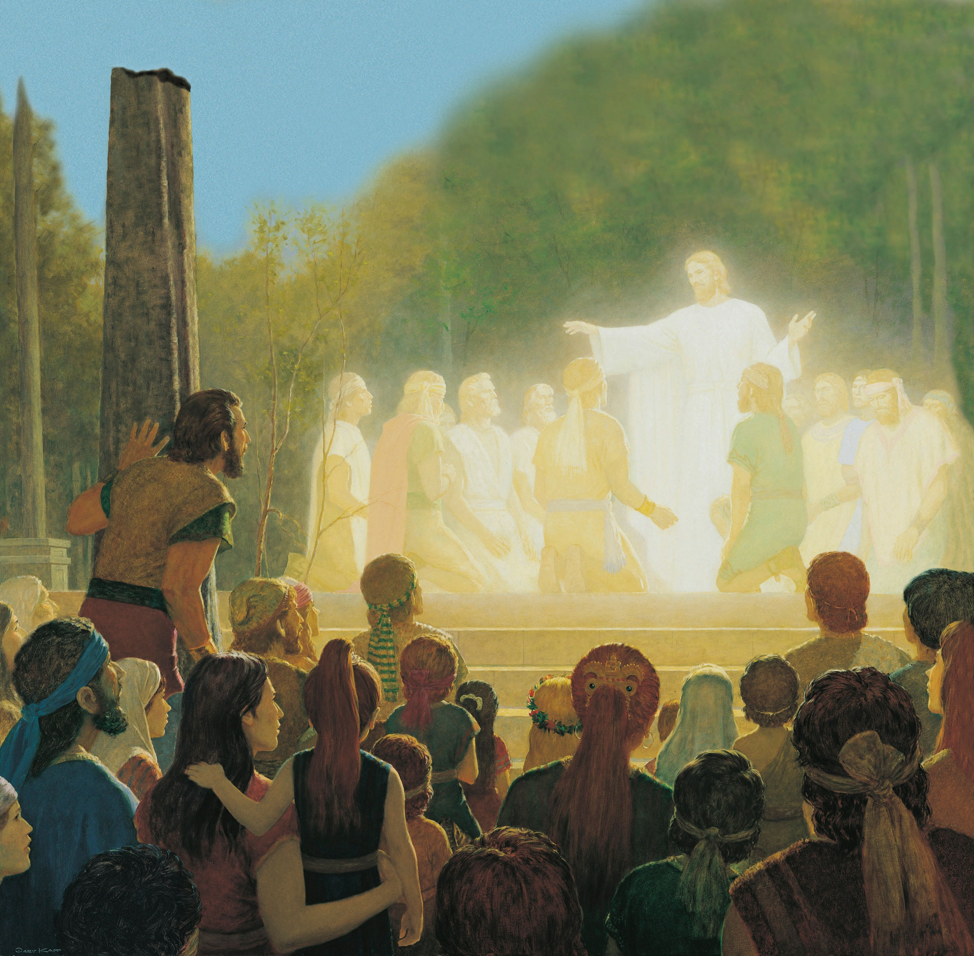 The Light of His Countenance Did Shine upon Them, by Gary L. Kapp
