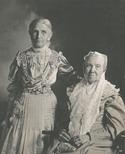 Emmeline B. Wells and Bathsheba W. Smith