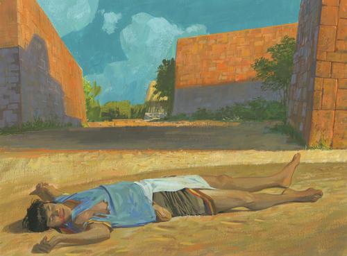 Korihor dead on ground