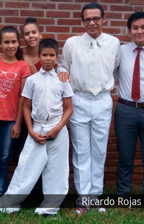 Ricardo Rojas as branch president