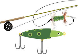 Fishing pole and Lure