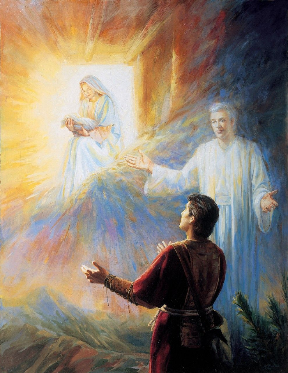 Nephi's Vision of the Virgin Mary, by Judith A. Mehr