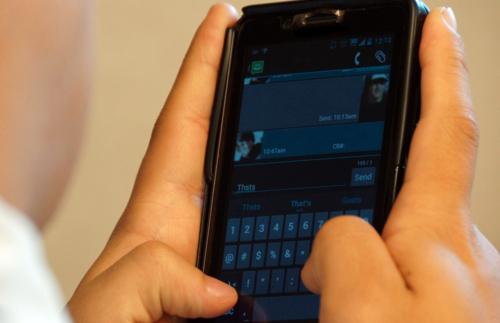 Sharing the gospel through texting