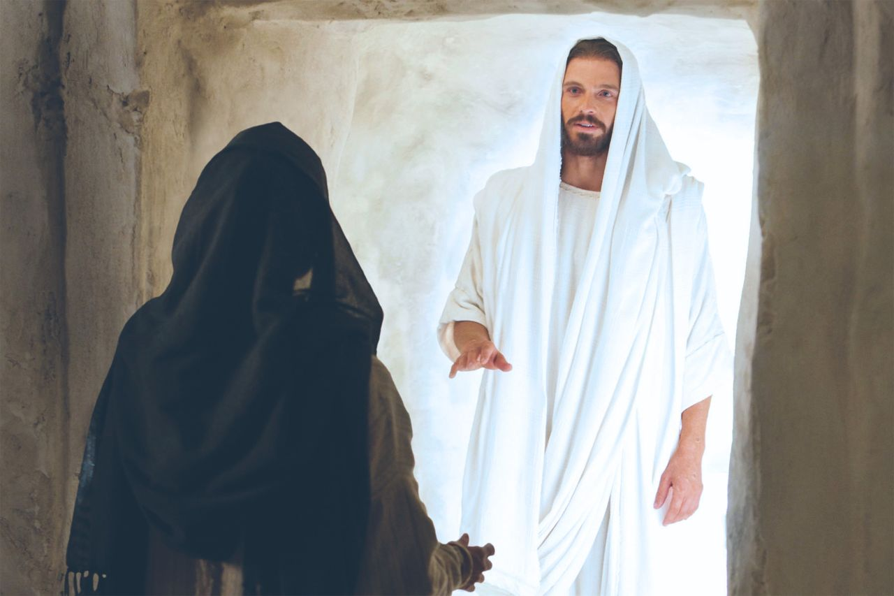 Jesus Cristo ressuscitado apareceu à Maria Madalena