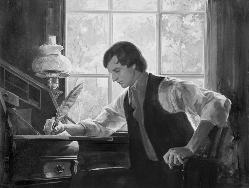 Joseph Smith writing