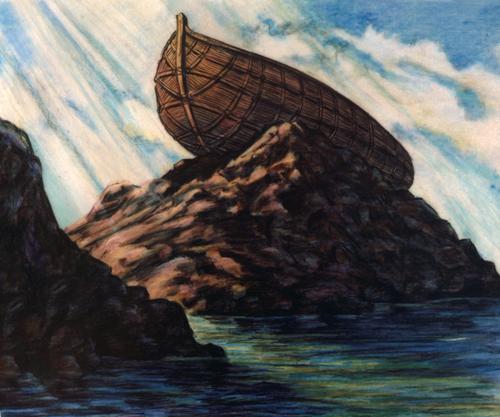 ark on dry land