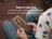 """A photograph of a girl holding an image of Christ, with a quote by President Russell M. Nelson: """"Your faith is always safe … in the Lord Jesus Christ."""""""