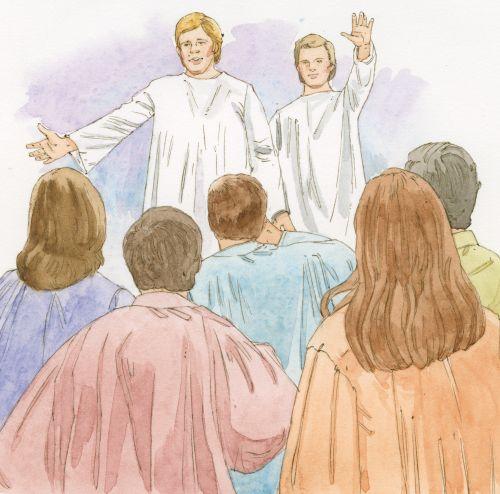 angels visiting telestial kingdom