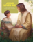 Jesus sitting with a small boy