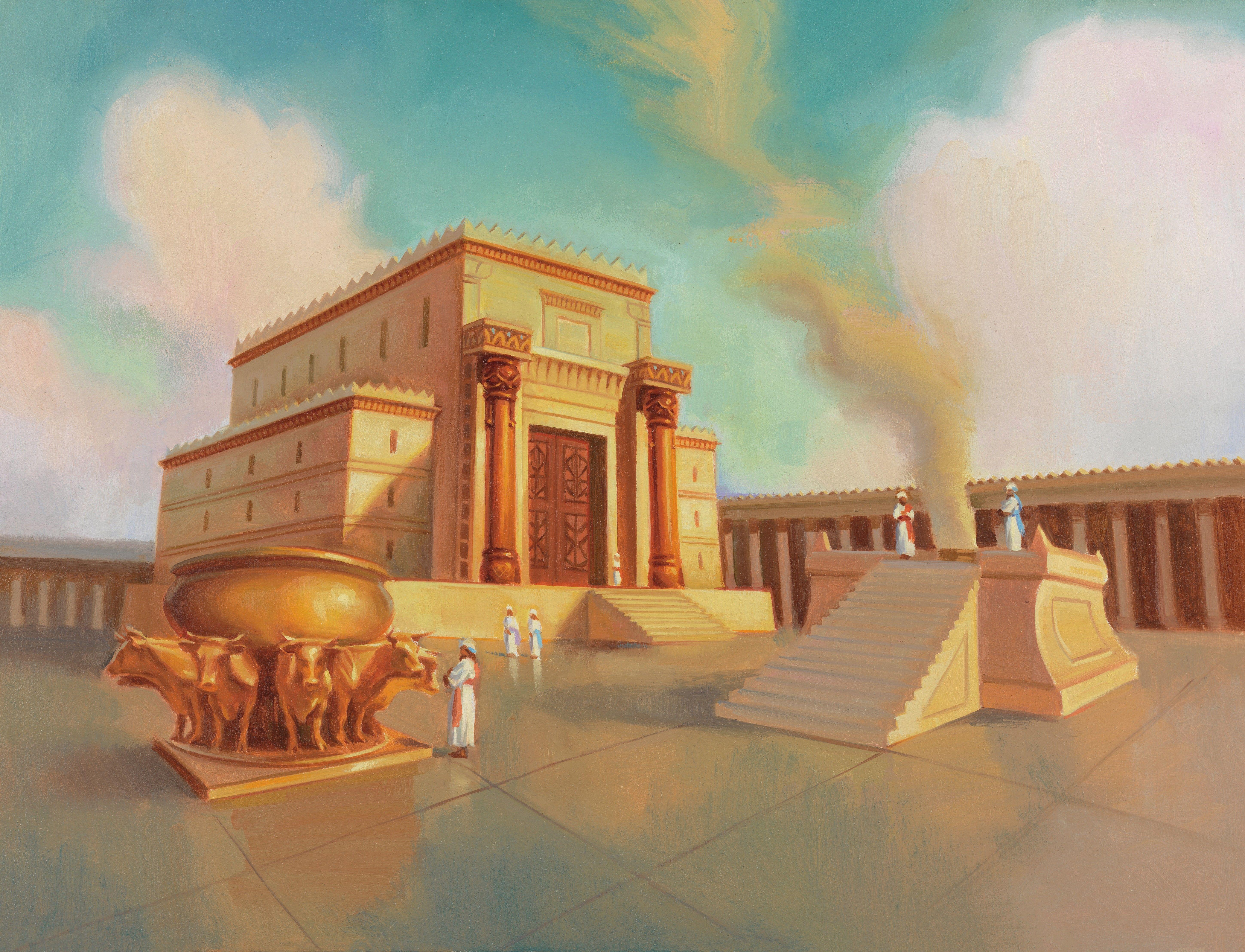 Solomon's Temple, by Sam Lawlor