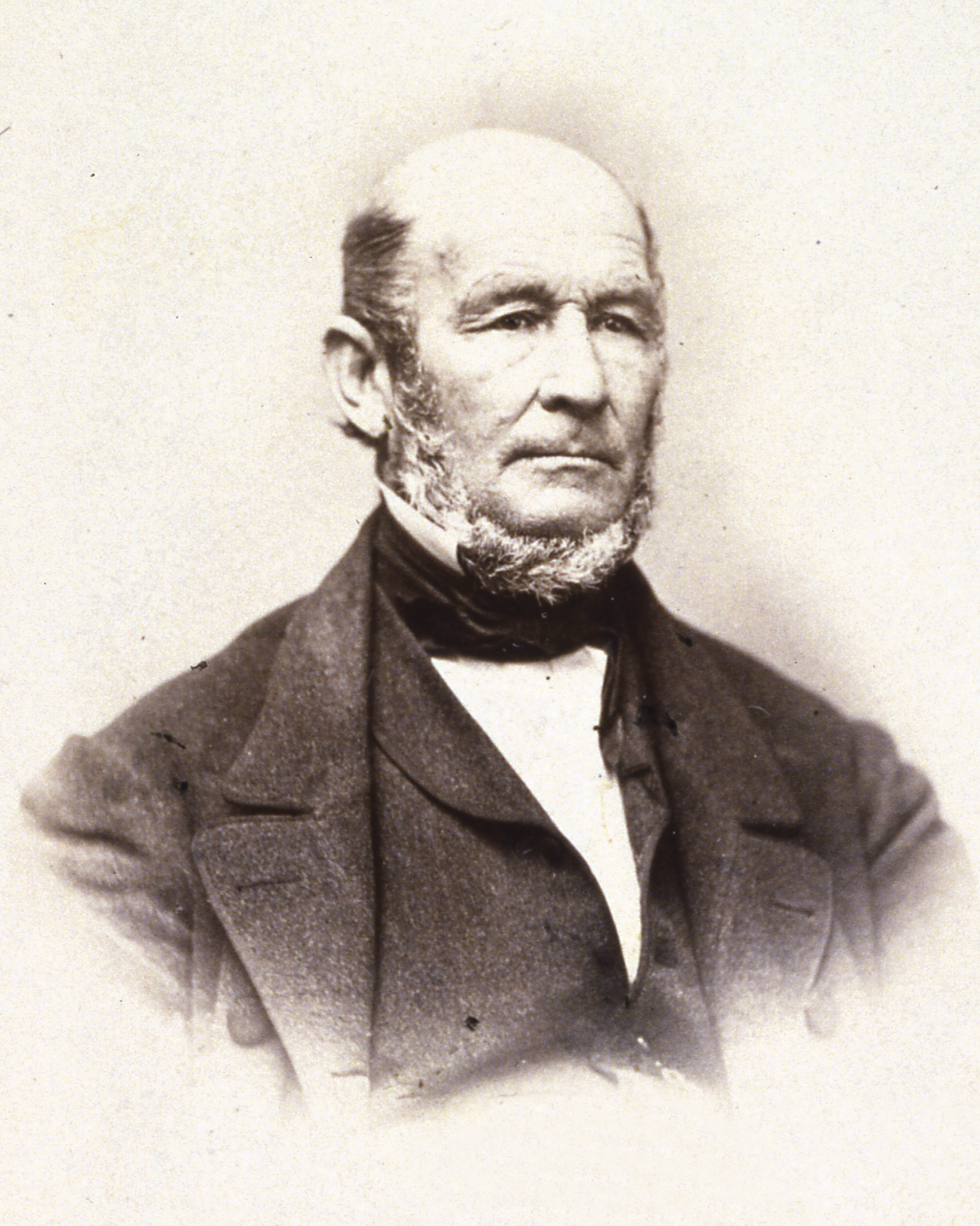 A historic photo of Heber C. Kimball
