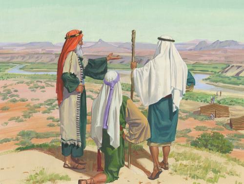 Lehi, Laman, and Lemuel