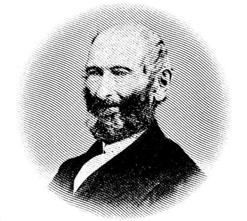 Portrait of John Whitmer ca. 1870