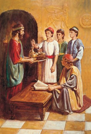 Daniel Refusing the King's Meat and Wine
