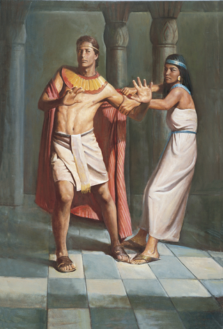 Joseph Resists Potiphar's Wife (Joseph and Potiphar's Wife)