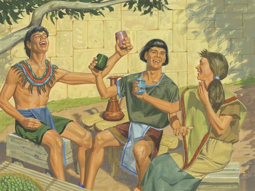 people drinking