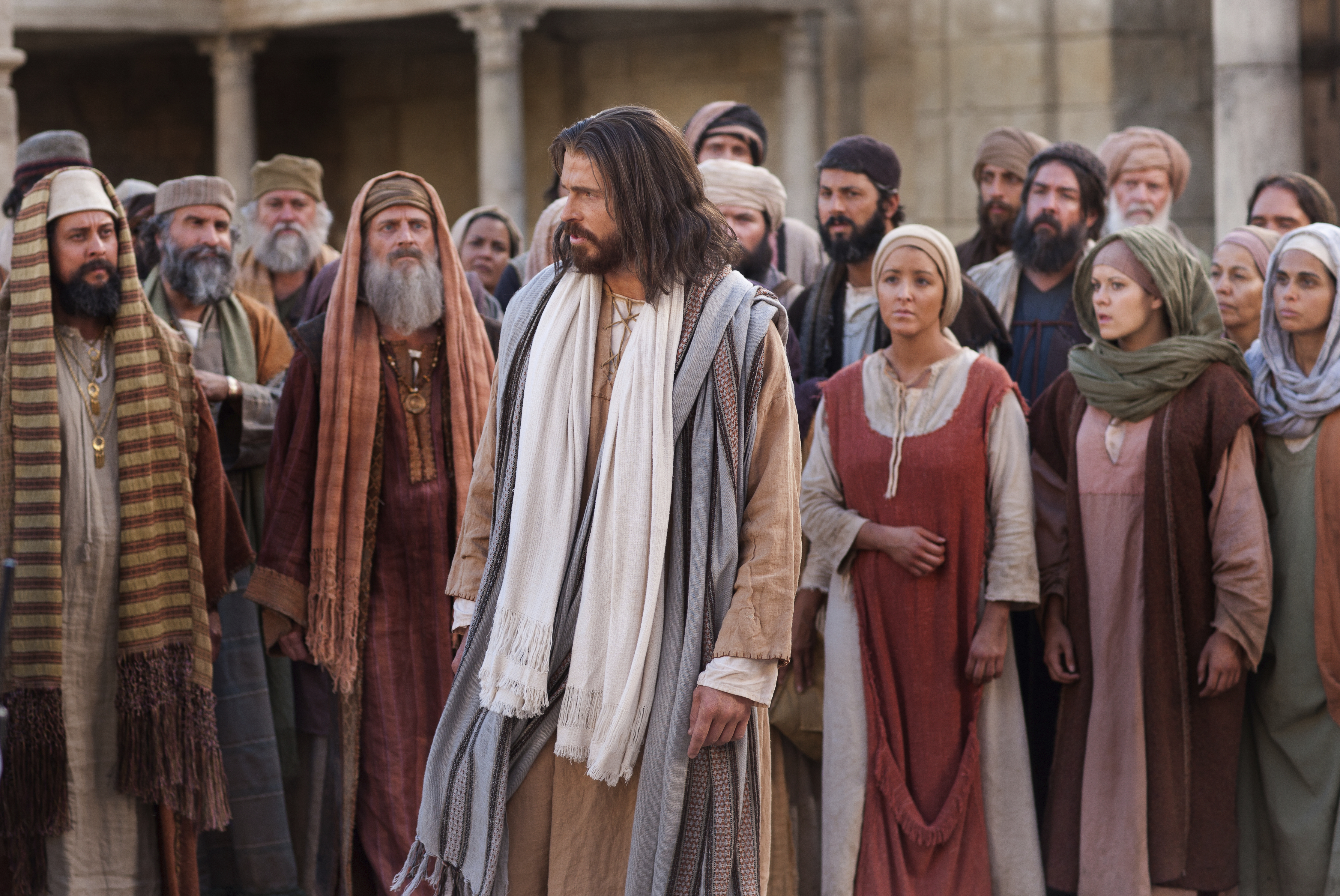 The Pharisees question Jesus and declare that His record is not true.