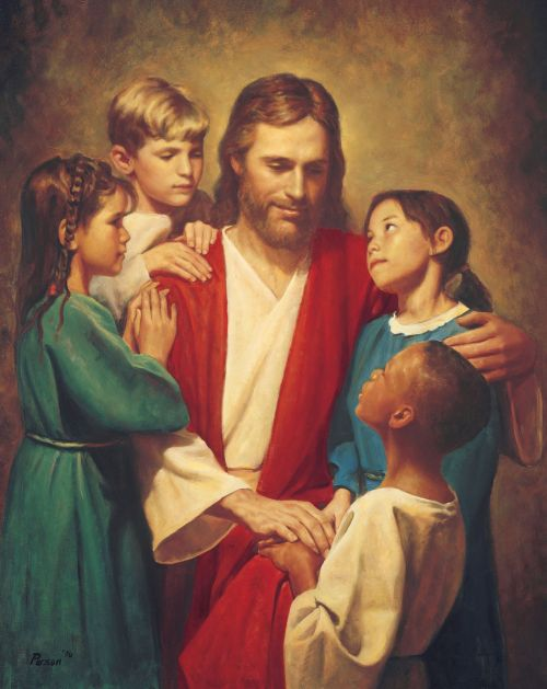 Christ and Children from around the World