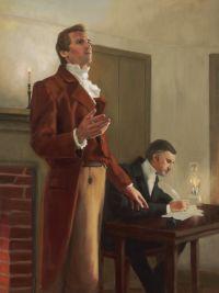 Joseph Smith Jr. Receiving Revelation
