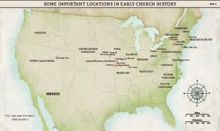 Church History Maps: Some Important Locations in Early Church History
