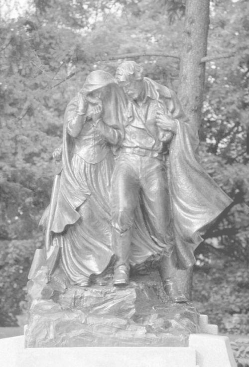Monument at Winter Quarters
