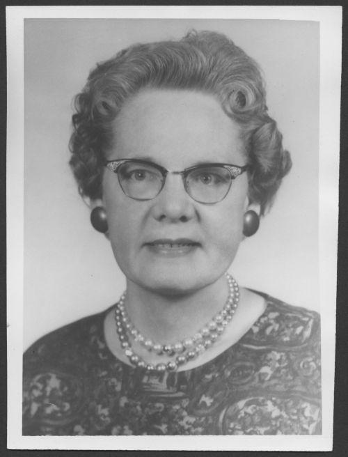Portrait of Maud Leone Openshaw Jacobs