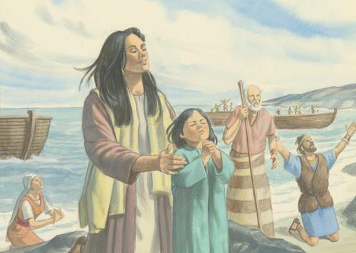 Jaredites praying