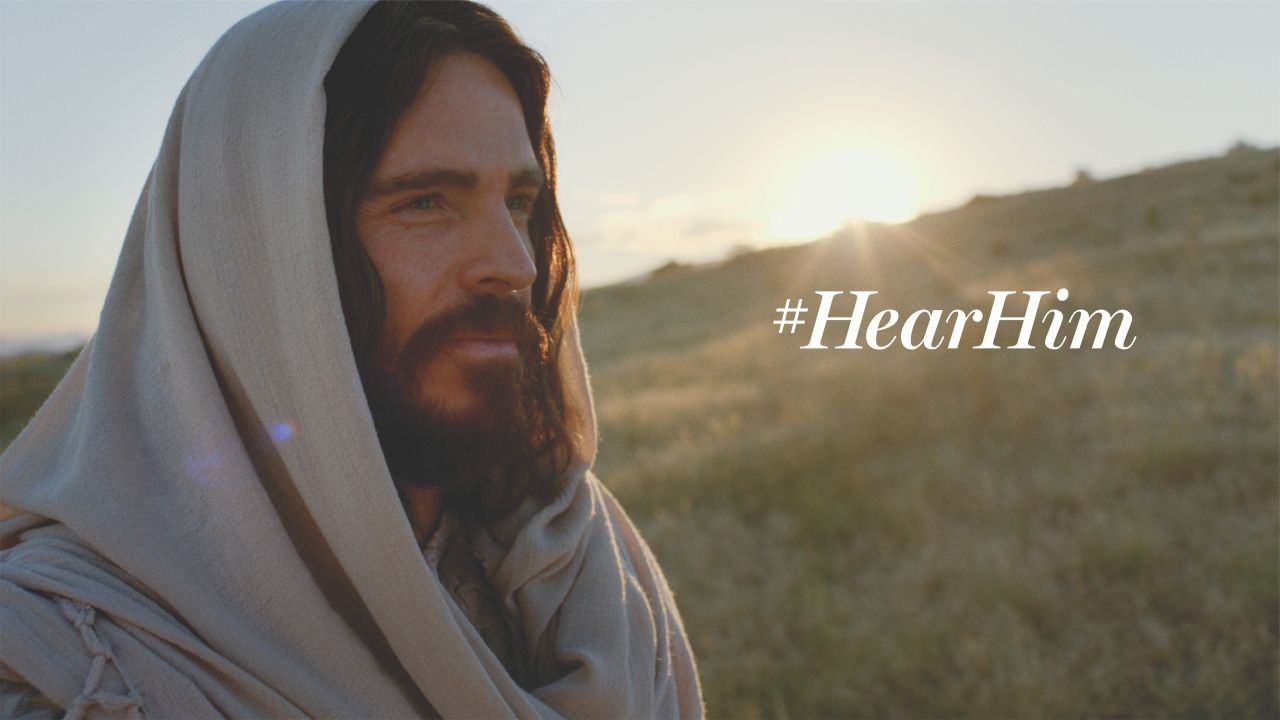 Hear Him this Easter Season - Jesus Christ