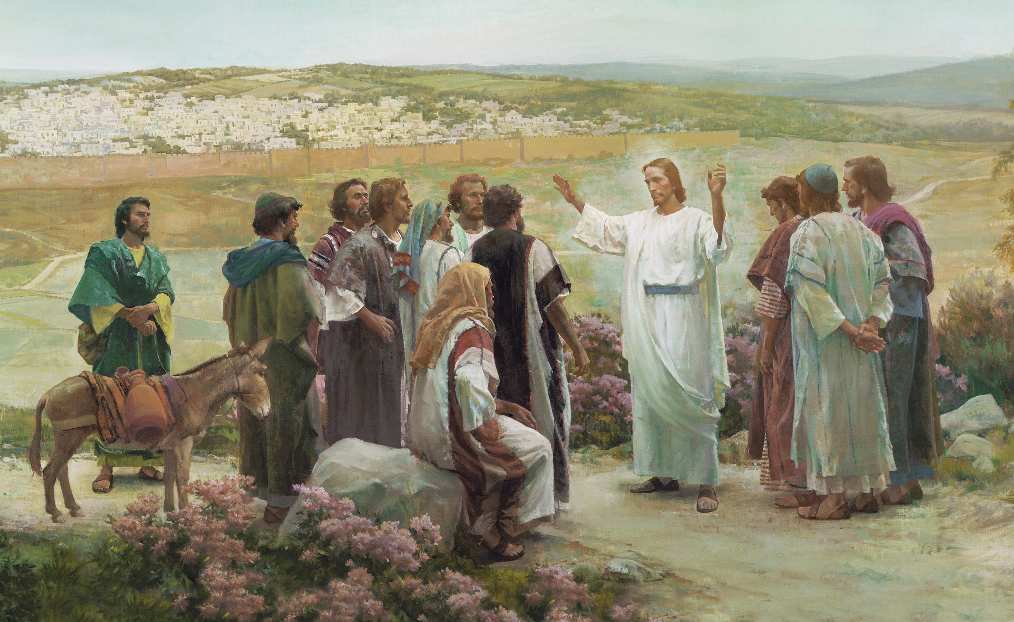 Go Ye Therefore (Go Ye Therefore, and Teach All Nations), by Harry Anderson (62494); GAK 235; GAB 61; Primary manual 7-41; Matthew 28:16–20; Mark 16:14–20
