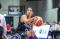Julieta Playing Basketball