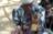 Eine Mutter und ihr Kind während der Hungersnot in Äthiopien