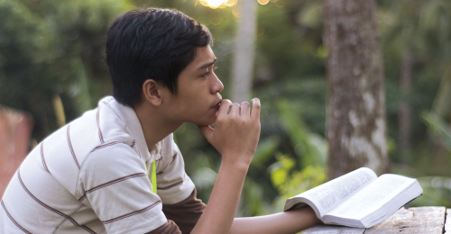 Pondering After Scripture Reading