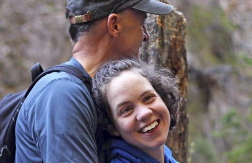 Paul B. Pieper and His Daughter Dora
